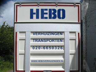 Vrachtauto Hebo